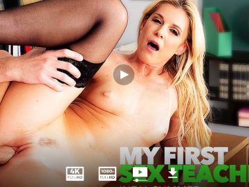 India Summer Wearing Stockings and Heels Enjoys Her Students Dick - India Summer Legs - India Summer Feet - India Summer High Heels - India Summer Stockings