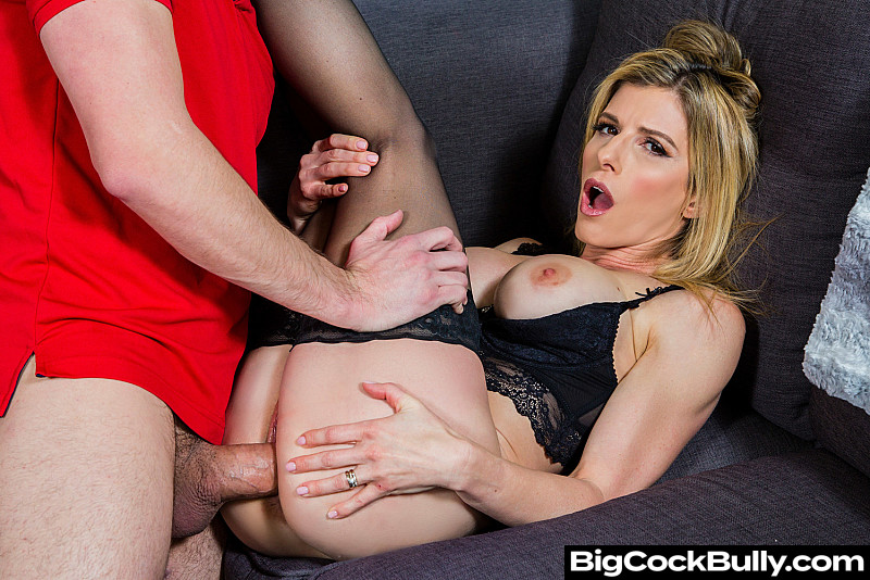 Cory Chase In Stockings Takes A Huge Cock - Cory Chase Feet - Cory Chase Legs