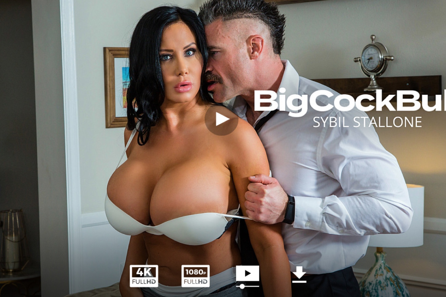 Sybil Stallone Rides A Big Cock In Her Stockings - Sybil Stallone Legs - Sybil Stallone Feet